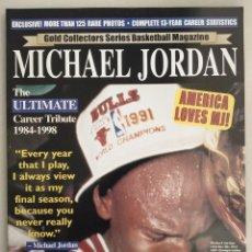 Coleccionismo deportivo: MICHAEL JORDAN - REVISTA/LIBRO ''GOLD COLLECTORS SERIES'' (1999) - NBA - CON PÓSTER DESPLEGABLE. Lote 288126253
