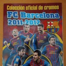 Coleccionismo deportivo: ALBUM VACÍO, SIN CROMOS. COLECCIÓN OFICIAL F C BARCELONA, 2011-12. PANINI. AA. Lote 217003835