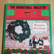 Coleccionismo deportivo: REVISTA THE BASKETBALL BULETIN (WINTER 1989) NABC. Lote 217288882