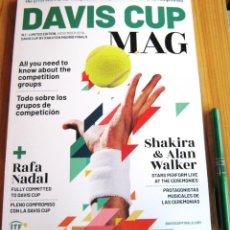 Coleccionismo deportivo: OFFICIAL DAVIS CUP MAG SPECIAL MAGAZINE BOOK MADRID 2019 TEAMS HISTORY TENNIS R. Lote 233499160