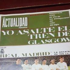 Coleccionismo deportivo: REVISTA REAL MADRID LA ESCALADA DE LOS YEYE. Lote 218101375