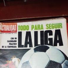 Coleccionismo deportivo: REVISTA LA LIGA DE FÚTBOL 70 -71. Lote 218101687