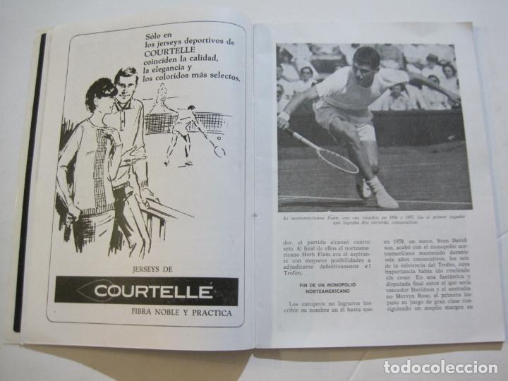Coleccionismo deportivo: REAL CLUB DE TENIS BARCELONA-XXXIX CONCURS INTERNACIONAL-REVISTA TROFEO GODO 1966-VER FOTOS-(K-435) - Foto 7 - 218156331
