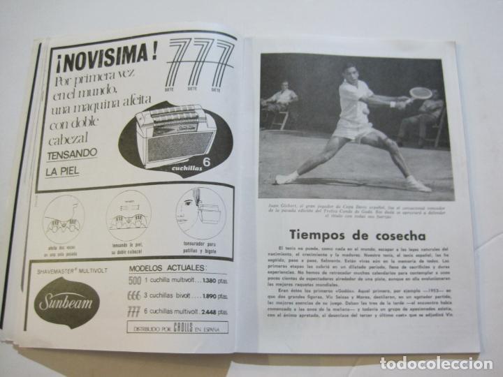 Coleccionismo deportivo: REAL CLUB DE TENIS BARCELONA-XXXIX CONCURS INTERNACIONAL-REVISTA TROFEO GODO 1966-VER FOTOS-(K-435) - Foto 8 - 218156331