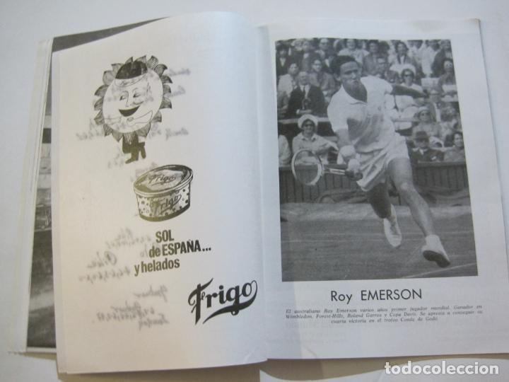 Coleccionismo deportivo: REAL CLUB DE TENIS BARCELONA-XXXIX CONCURS INTERNACIONAL-REVISTA TROFEO GODO 1966-VER FOTOS-(K-435) - Foto 11 - 218156331