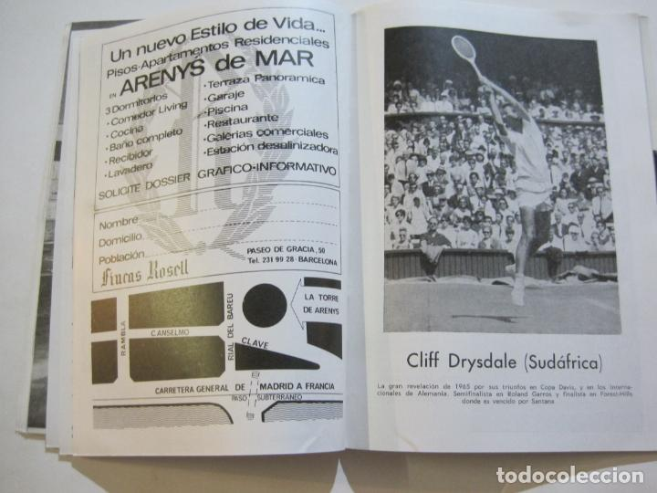 Coleccionismo deportivo: REAL CLUB DE TENIS BARCELONA-XXXIX CONCURS INTERNACIONAL-REVISTA TROFEO GODO 1966-VER FOTOS-(K-435) - Foto 12 - 218156331