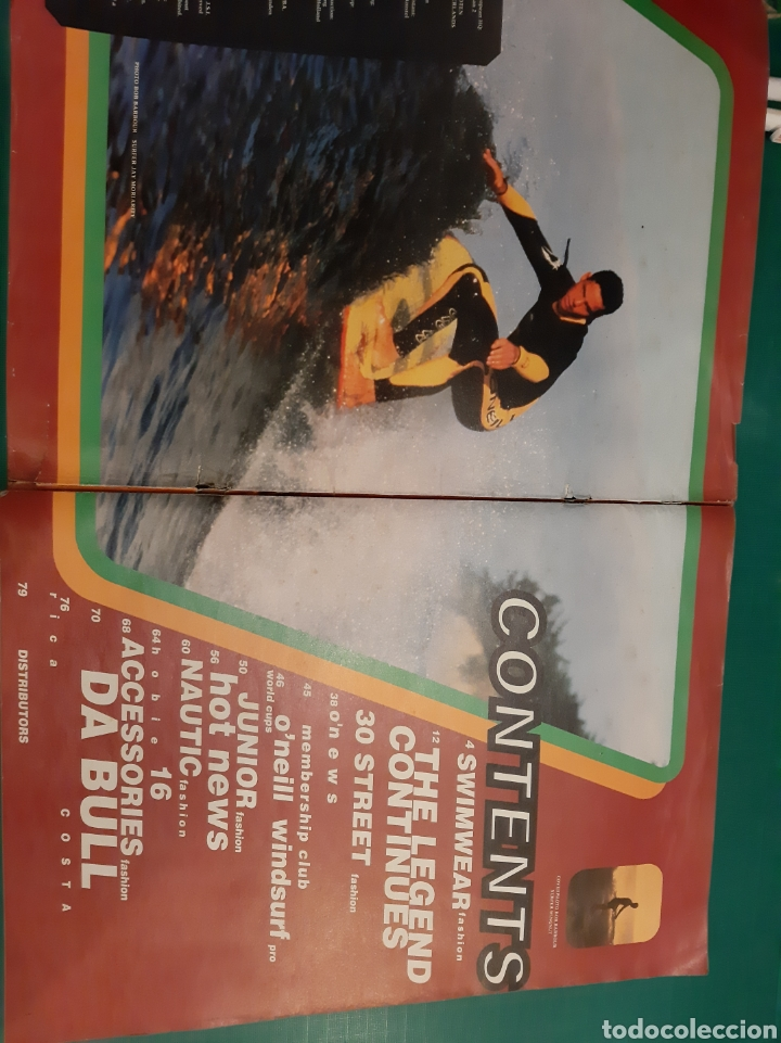 Coleccionismo deportivo: O NEILL REVISTA VINTAGE SURF NOSTALGIA - Foto 2 - 218181397