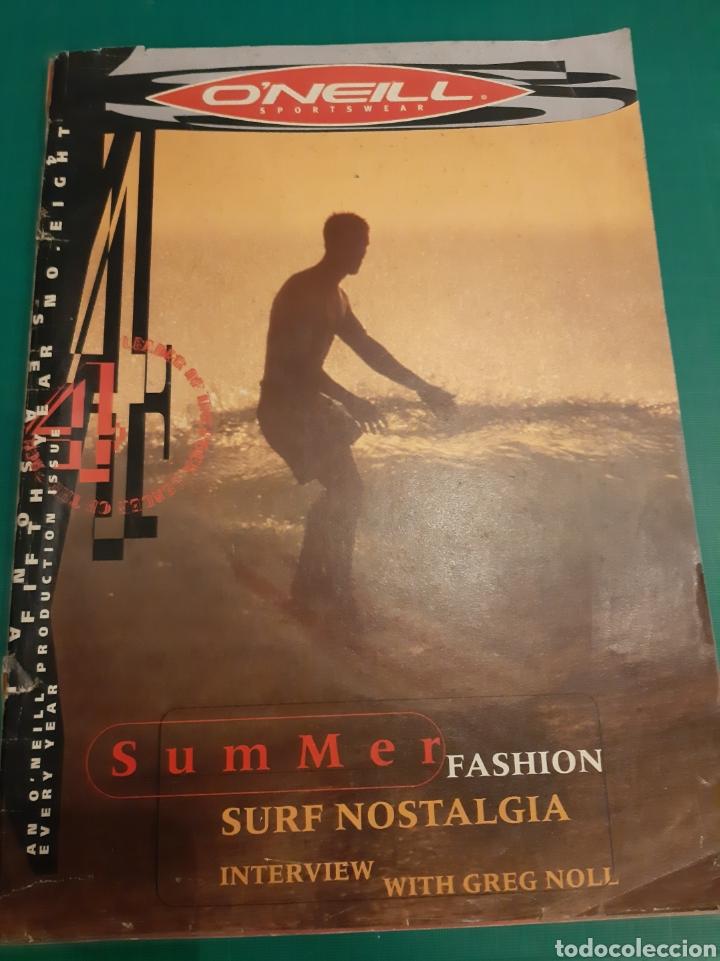 O NEILL REVISTA VINTAGE SURF NOSTALGIA (Coleccionismo Deportivo - Revistas y Periódicos - otros Deportes)