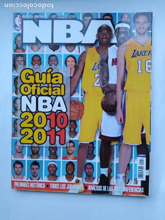 REVISTA OFICIAL. Nº 217. AÑO 2010. GUIA OFICIAL NBA 2010 2011. TDKC75 (Coleccionismo Deportivo - Revistas y Periódicos - otros Deportes)