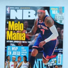 Coleccionismo deportivo: REVISTA OFICIAL NBA Nº 222. AÑO 2011 - ANTHONY MELO MANIA. TDKC75. Lote 218228061