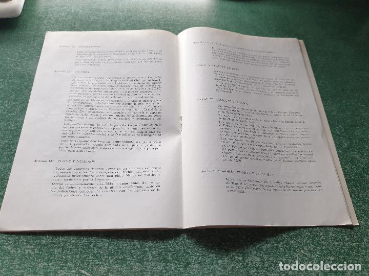 Coleccionismo deportivo: FOLLETO DEL IV RALLYE AUTOMOVILISTICO I SANT TERESA - 1971 (AVILA) - Foto 4 - 218267428