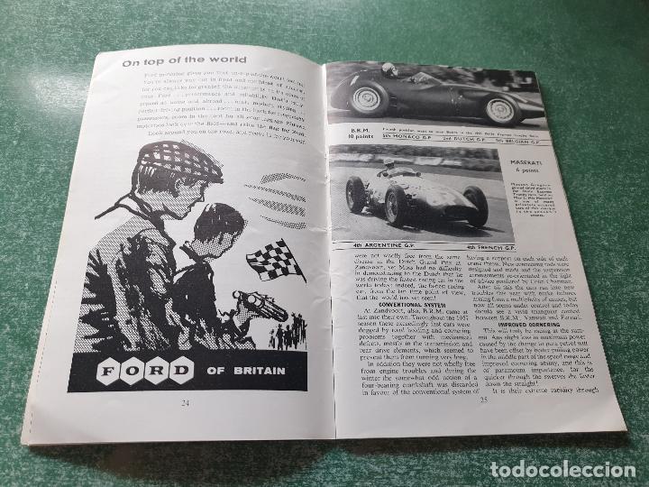 Coleccionismo deportivo: FOLLETO DEL 11th R.A.C. BRITISH - SILVERSTONE 19 JULY 1958. - Foto 4 - 218268380