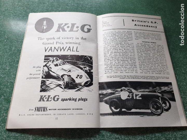 Coleccionismo deportivo: FOLLETO DEL 11th R.A.C. BRITISH - SILVERSTONE 19 JULY 1958. - Foto 7 - 218268380