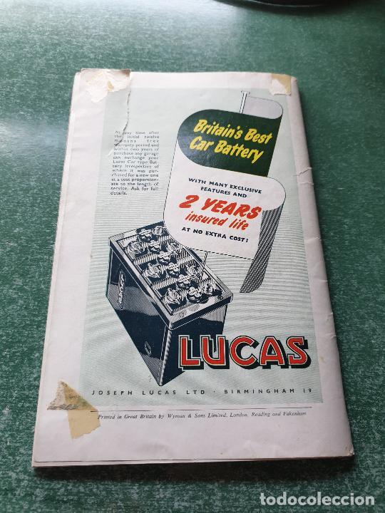 Coleccionismo deportivo: FOLLETO DEL 11th R.A.C. BRITISH - SILVERSTONE 19 JULY 1958. - Foto 8 - 218268380