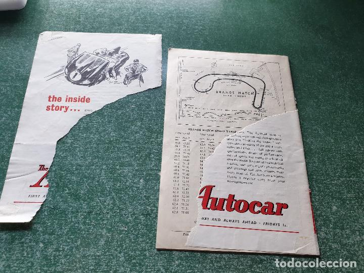 Coleccionismo deportivo: PROGRAMA OFICIAL BRANDS HATCH FORUMULA II AND II RACING CARS - 1958 - Foto 2 - 218268872