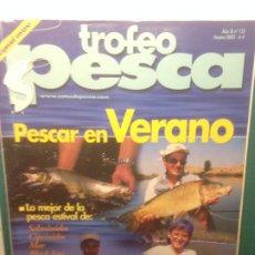 Coleccionismo deportivo: TROFEO PESCA Nº125 VERANO 2003 PESCAR EN VERANO - SALMONIDOS, CIPRINIDOS, MAR , BLACK BASS. Lote 218318967