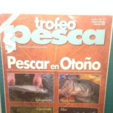 Coleccionismo deportivo: TROFEO PESCA Nº126 PESCAR EN OTOÑO - OCTUBRE-DICIEMBRE 2003 - SALMONIDOS, CIPRINIDOS , BLACK BASS,. Lote 218321628