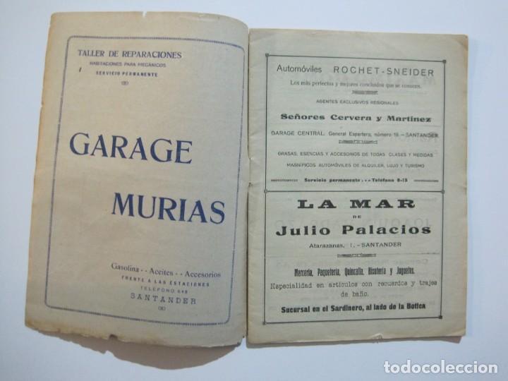 Coleccionismo deportivo: LAS NOVEDADES DEPORTIVAS-REVISTA QUINCENAL ILUSTRADA-MED. 15X21CM. SANTANDER AÑO 1919-NUM 2- (V-32) - Foto 3 - 26350037