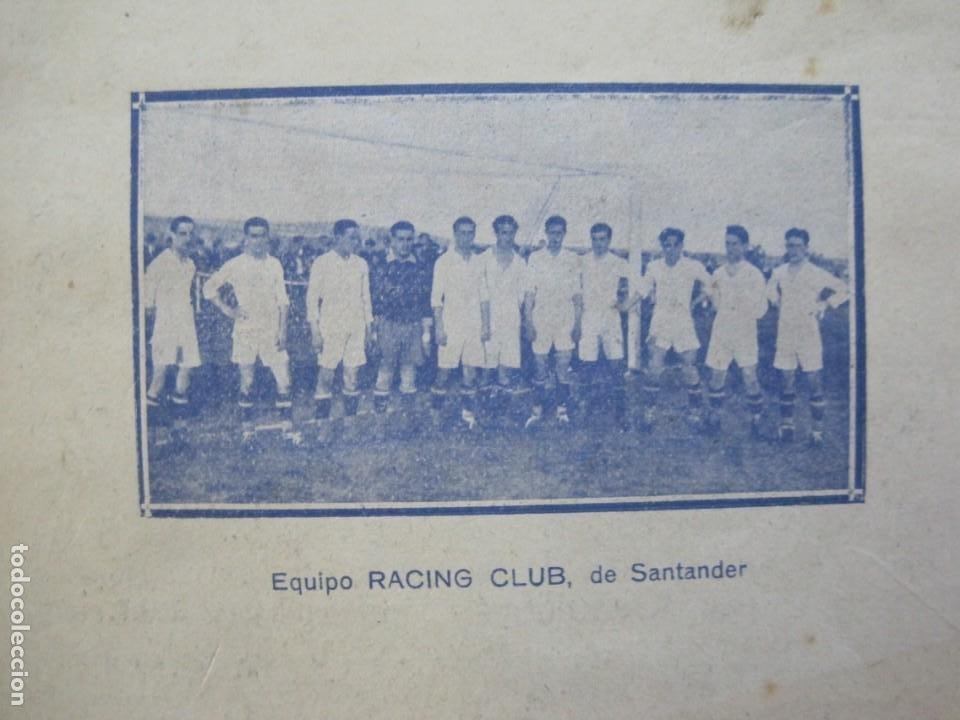 Coleccionismo deportivo: LAS NOVEDADES DEPORTIVAS-REVISTA QUINCENAL ILUSTRADA-MED. 15X21CM. SANTANDER AÑO 1919-NUM 2- (V-32) - Foto 4 - 26350037