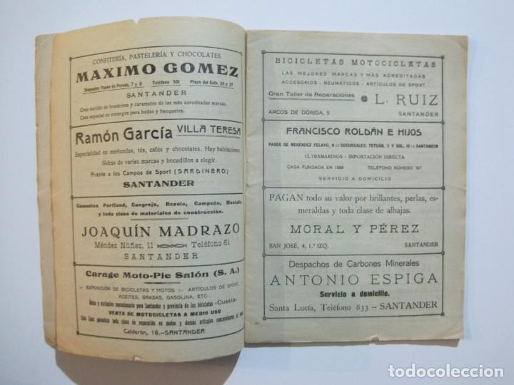 Coleccionismo deportivo: LAS NOVEDADES DEPORTIVAS-REVISTA QUINCENAL ILUSTRADA-MED. 15X21CM. SANTANDER AÑO 1919-NUM 2- (V-32) - Foto 5 - 26350037