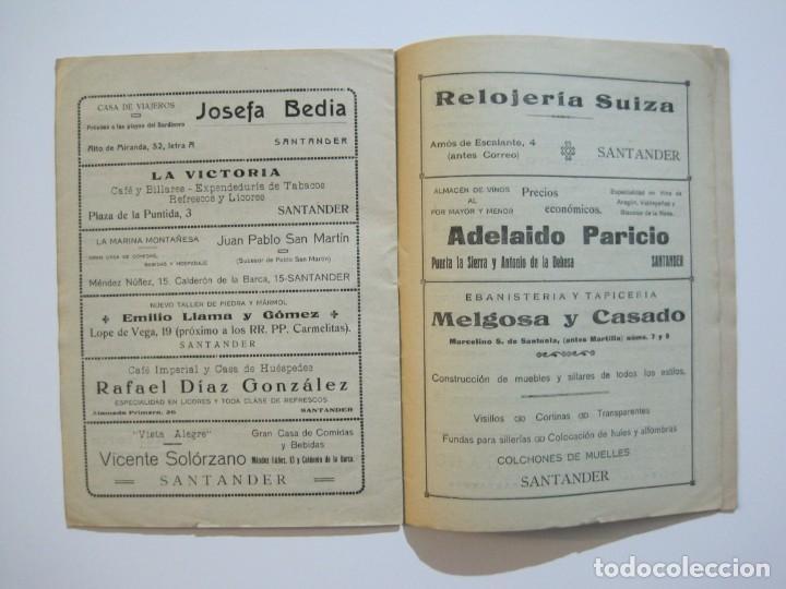 Coleccionismo deportivo: LAS NOVEDADES DEPORTIVAS-REVISTA QUINCENAL ILUSTRADA-MED. 15X21CM. SANTANDER AÑO 1919-NUM 2- (V-32) - Foto 12 - 26350037