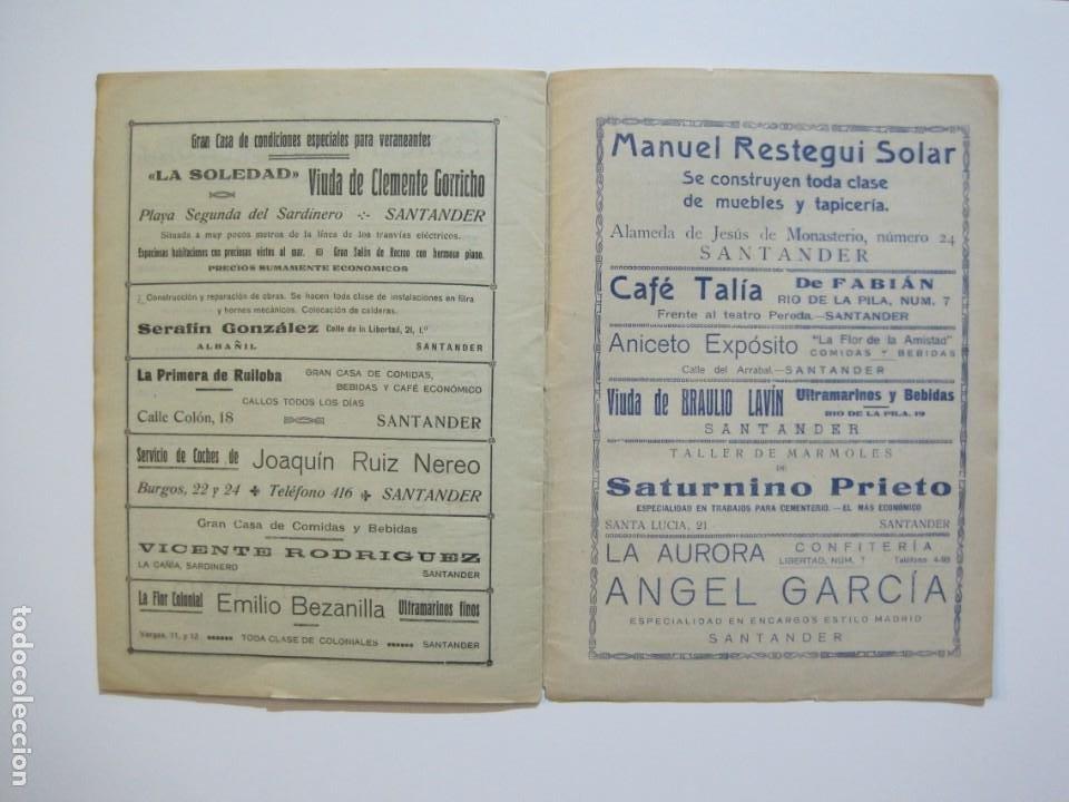 Coleccionismo deportivo: LAS NOVEDADES DEPORTIVAS-REVISTA QUINCENAL ILUSTRADA-MED. 15X21CM. SANTANDER AÑO 1919-NUM 2- (V-32) - Foto 14 - 26350037