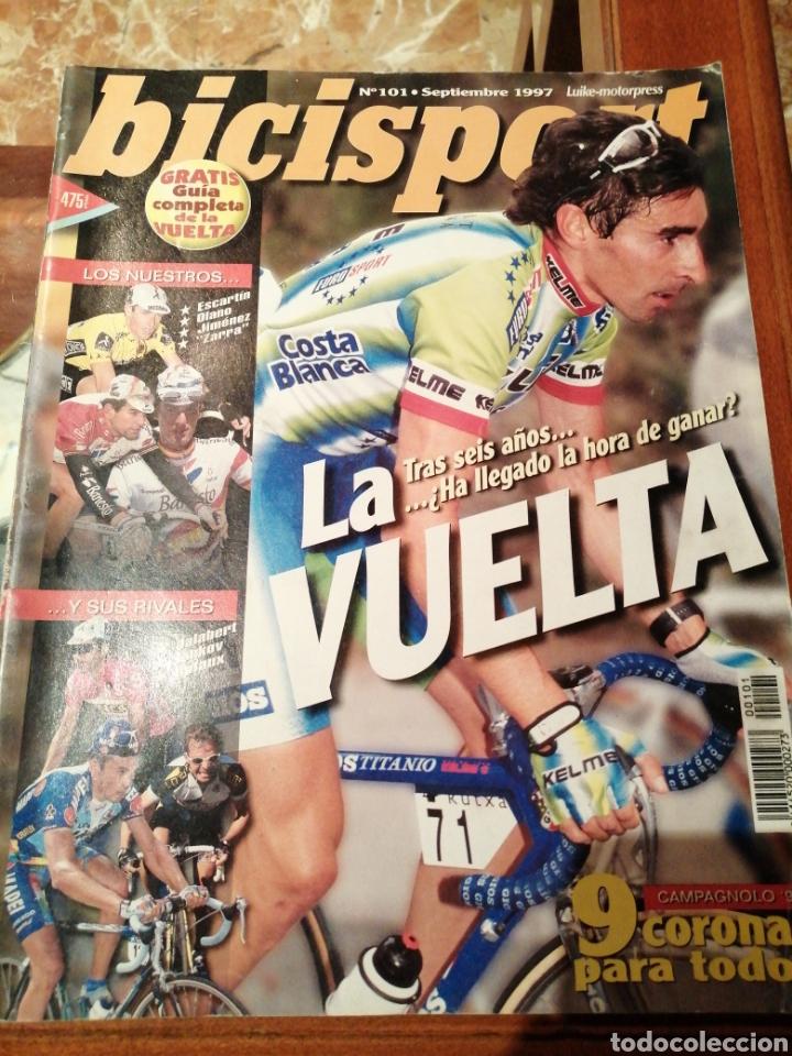 CICLISMO A FONDO - BICISPORT REVISTA N°101 (Coleccionismo Deportivo - Revistas y Periódicos - otros Deportes)