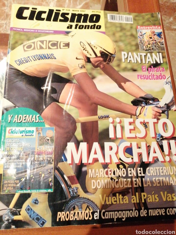 CICLISMO A FONDO REVISTA N°150 (Coleccionismo Deportivo - Revistas y Periódicos - otros Deportes)