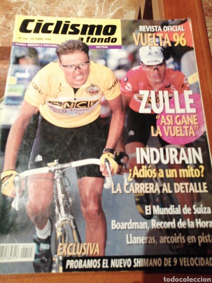 CICLISMO A FONDO REVISTA N°143 - VUELTA ESPAÑA 1996 ZULLE (Coleccionismo Deportivo - Revistas y Periódicos - otros Deportes)
