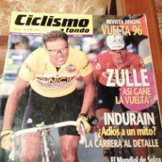 Coleccionismo deportivo: CICLISMO A FONDO REVISTA N°143 - VUELTA ESPAÑA 1996 ZULLE. Lote 218740677