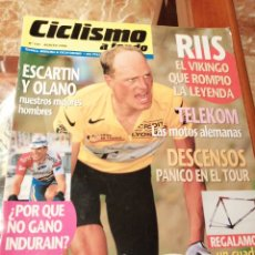 Coleccionismo deportivo: CICLISMO A FONDO REVISTA N°141 - TOUR FRANCIA 1996 RIIS. Lote 218740736