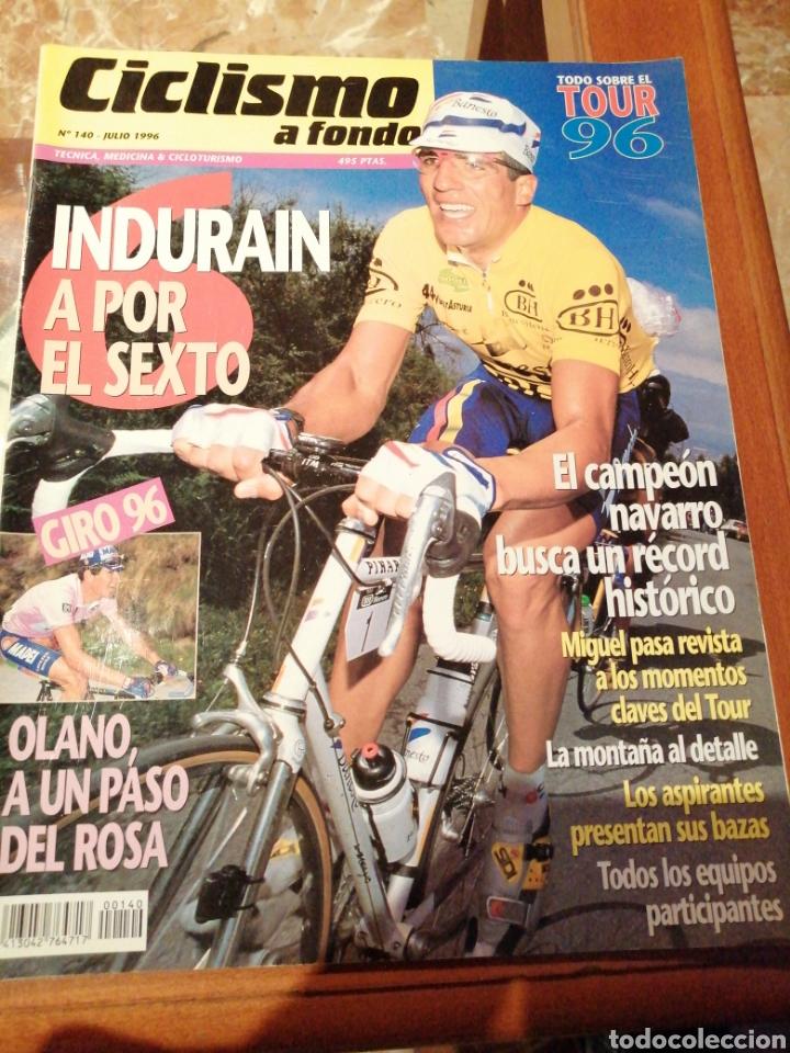 CICLISMO A FONDO REVISTA N°140 (Coleccionismo Deportivo - Revistas y Periódicos - otros Deportes)