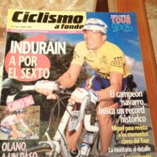 Coleccionismo deportivo: CICLISMO A FONDO REVISTA N°140. Lote 218740800