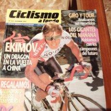 Coleccionismo deportivo: CICLISMO A FONDO REVISTA N°133. Lote 218740875