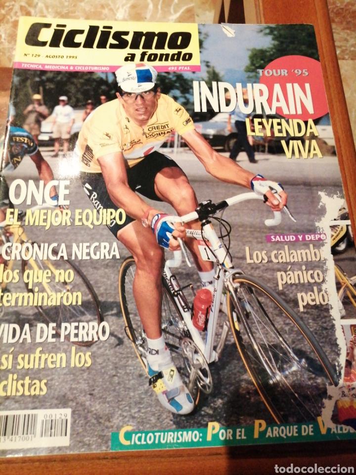 CICLISMO A FONDO REVISTA N°129 - TOUR FRANCIA 1995 INDURAIN (Coleccionismo Deportivo - Revistas y Periódicos - otros Deportes)