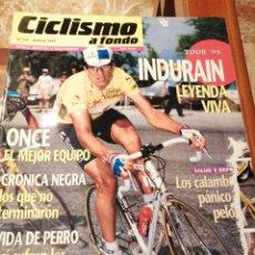 Coleccionismo deportivo: CICLISMO A FONDO REVISTA N°129 - TOUR FRANCIA 1995 INDURAIN. Lote 218740967