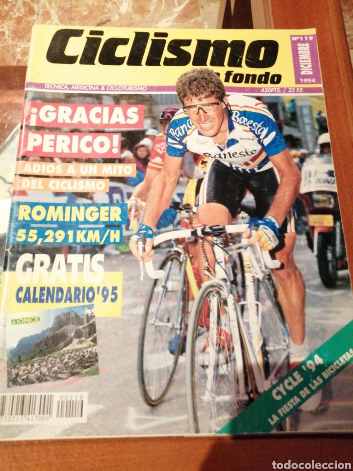 CICLISMO A FONDO REVISTA N°119 - PERICO DELGADO (Coleccionismo Deportivo - Revistas y Periódicos - otros Deportes)