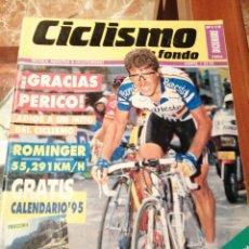 Coleccionismo deportivo: CICLISMO A FONDO REVISTA N°119 - PERICO DELGADO. Lote 218741077
