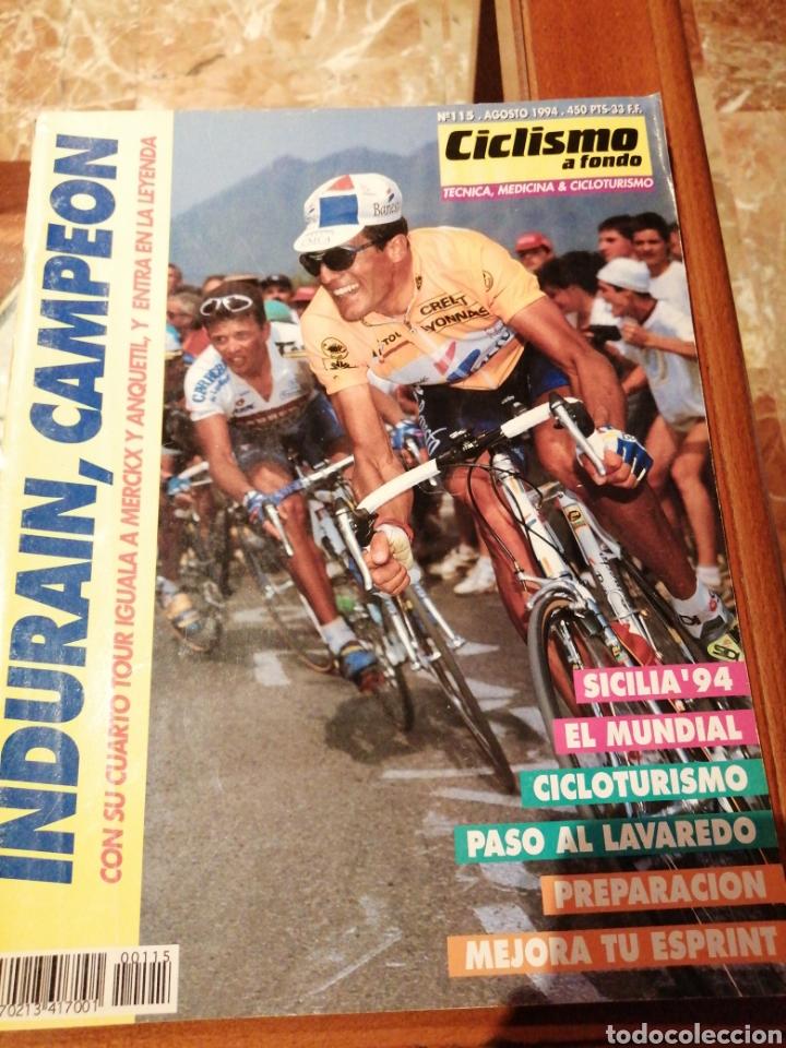 CICLISMO A FONDO REVISTA N°115 - TOUR FRANCIA 1994 INDURAIN (Coleccionismo Deportivo - Revistas y Periódicos - otros Deportes)