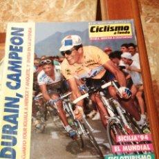 Coleccionismo deportivo: CICLISMO A FONDO REVISTA N°115 - TOUR FRANCIA 1994 INDURAIN. Lote 218741138