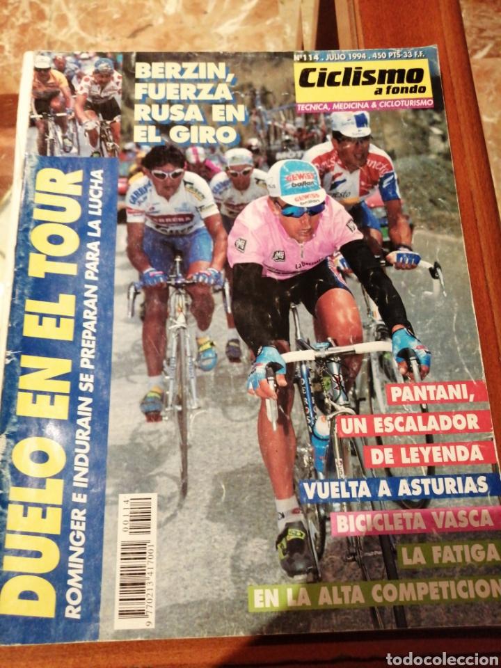 CICLISMO A FONDO REVISTA N°114 - GIRO ITALIA 1994 BERZIN (Coleccionismo Deportivo - Revistas y Periódicos - otros Deportes)