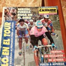 Coleccionismo deportivo: CICLISMO A FONDO REVISTA N°114 - GIRO ITALIA 1994 BERZIN. Lote 218741200