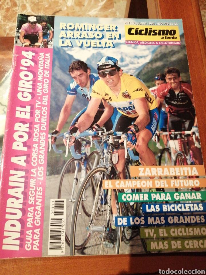 CICLISMO A FONDO REVISTA N°113 - VUELTA ESPAÑA 1994 ROMINGER (Coleccionismo Deportivo - Revistas y Periódicos - otros Deportes)
