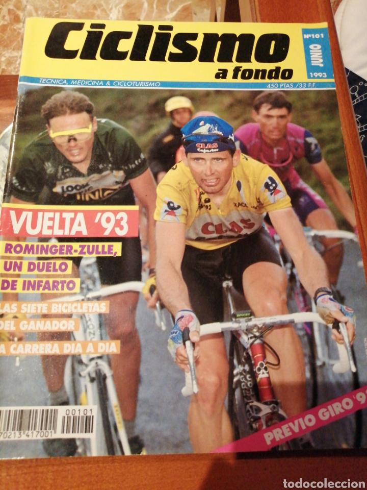 CICLISMO A FONDO REVISTA N°101 - VUELTA ESPAÑA 1993 ROMINGER (Coleccionismo Deportivo - Revistas y Periódicos - otros Deportes)
