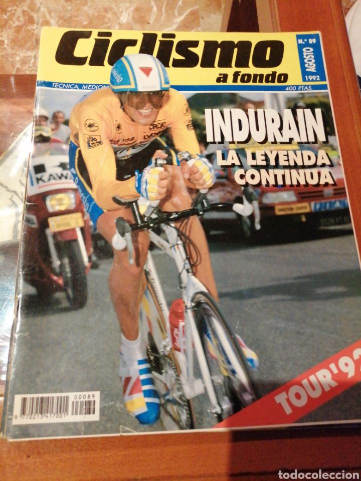 CICLISMO A FONDO REVISTA N°89 - TOUR FRANCIA 1992 INDURAIN (Coleccionismo Deportivo - Revistas y Periódicos - otros Deportes)