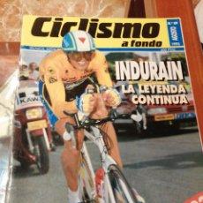 Coleccionismo deportivo: CICLISMO A FONDO REVISTA N°89 - TOUR FRANCIA 1992 INDURAIN. Lote 218741950