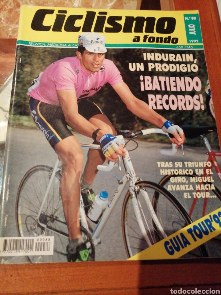 CICLISMO A FONDO REVISTA N°88 - GIRO ITALIA 1992 INDURAIN (Coleccionismo Deportivo - Revistas y Periódicos - otros Deportes)