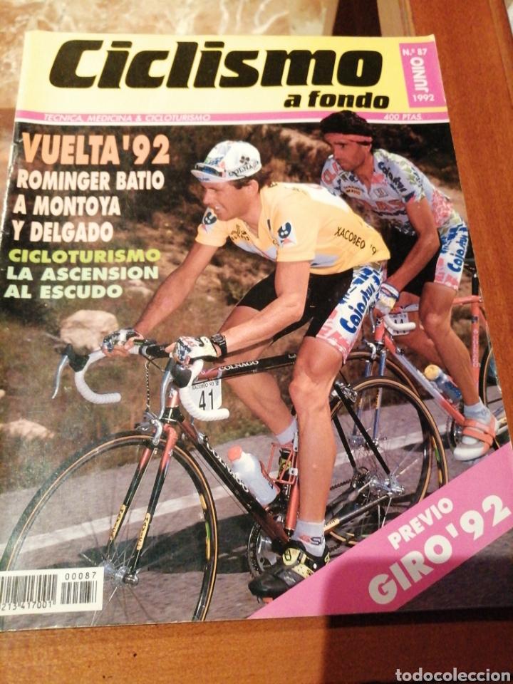 CICLISMO A FONDO REVISTA N°87 - VUELTA ESPAÑA 1992 ROMINGER (Coleccionismo Deportivo - Revistas y Periódicos - otros Deportes)