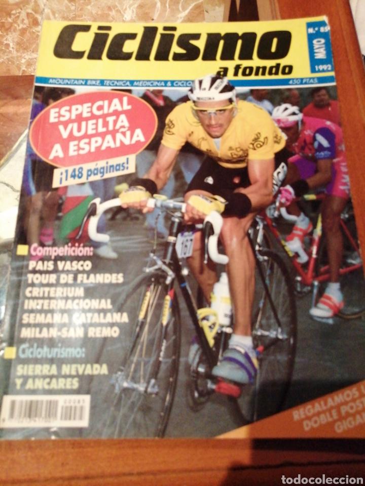 CICLISMO A FONDO REVISTA N°85 (Coleccionismo Deportivo - Revistas y Periódicos - otros Deportes)