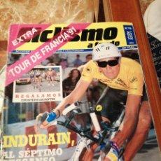 Coleccionismo deportivo: CICLISMO A FONDO REVISTA N°76 - TOUR FRANCIA 1991 INDURAIN. Lote 218742567